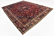 Link to 9' 4 x 12' 2 Mashad Persian Rug