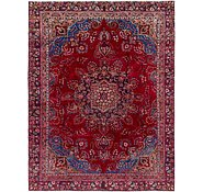 Link to 267cm x 353cm Mashad Persian Rug