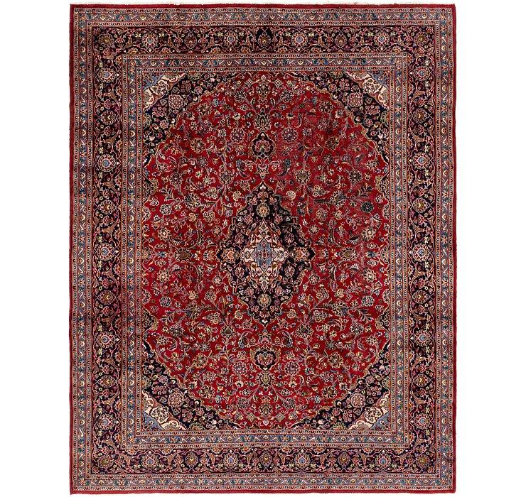 9' 9 x 12' 6 Kashan Persian Rug