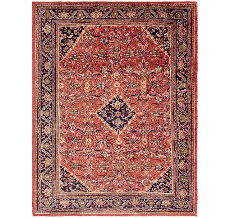 9' 10 x 13' 4 Mahal Persian Rug
