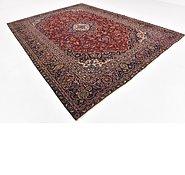 Link to 9' 3 x 12' 7 Kashan Persian Rug