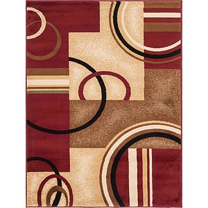 Link to 4' x 5' 3 Coffee Shop Rug item page
