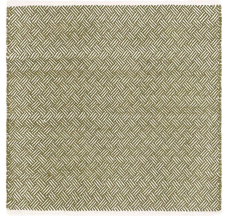 4' x 4' 2 Chindi Cotton Square Rug