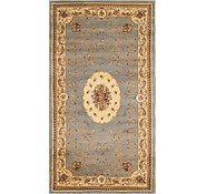 Link to 4' 2 x 7' 6 Classic Aubusson Runner Rug