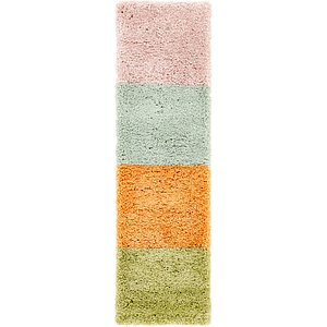 Link to 1' 10 x 6' 3 Multi-Tone Shag Runner ... item page