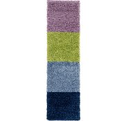 Link to 1' 9 x 6' 4 Multi-Tone Shag Runner Rug