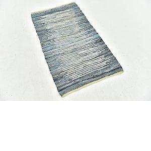 Unique Loom 2' 5 x 4' 4 Chindi Cotton Rug