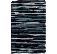 Link to 2' 3 x 3' Chindi Cotton Rug