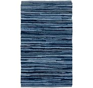 Link to 1' 8 x 2' 10 Chindi Cotton Rug