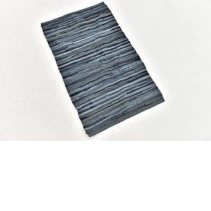 Unique Loom 1' 8 x 2' 10 Chindi Cotton Rug