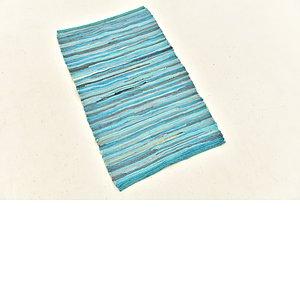 Unique Loom 1' 9 x 2' 9 Chindi Cotton Rug