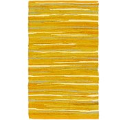 Link to 1' 9 x 3' Chindi Cotton Rug