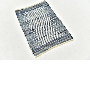 Unique Loom 2' x 3' Chindi Cotton Rug