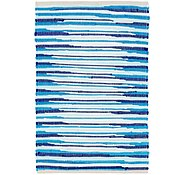 Link to 2' x 3' 2 Chindi Cotton Rug