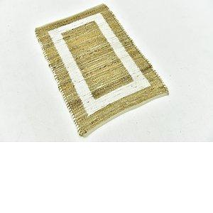 Unique Loom 2' x 3' Braided Jute Rug