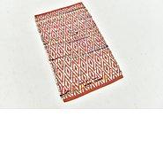 Link to 1' 9 x 3' Kilim Dhurrie Rug