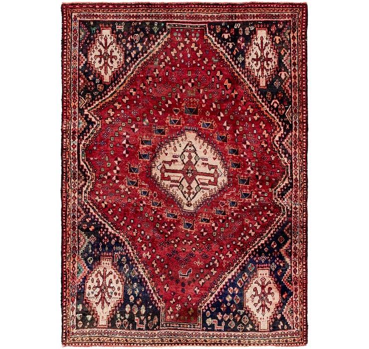 5' 4 x 7' 9 Ghashghaei Persian Rug