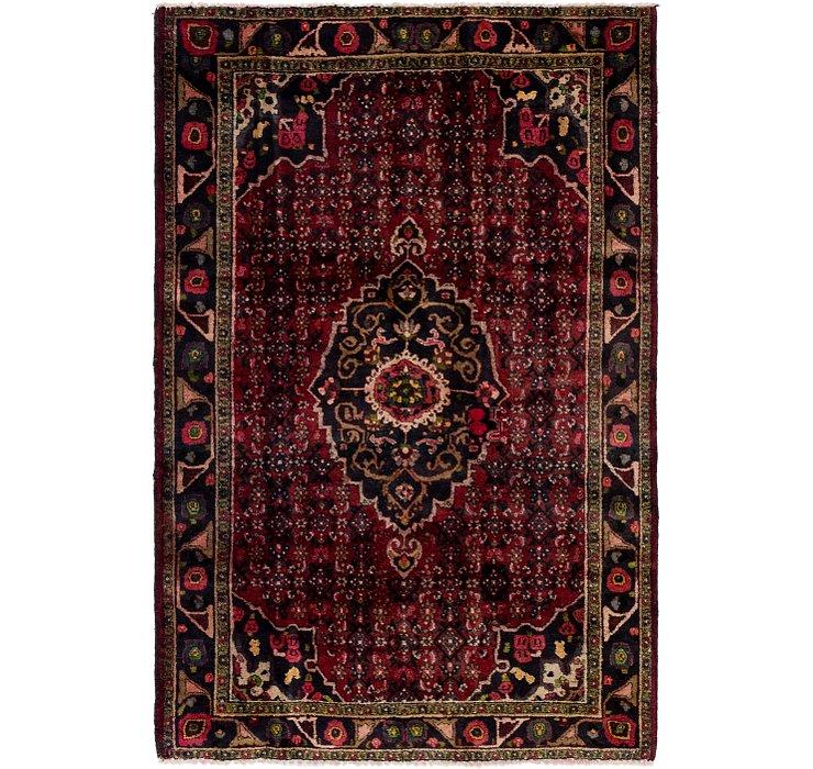 4' 6 x 7' Hamedan Persian Rug