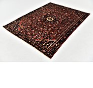 Link to 147cm x 193cm Hossainabad Persian Rug