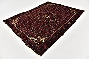 Link to 5' 3 x 7' Hossainabad Persian Rug