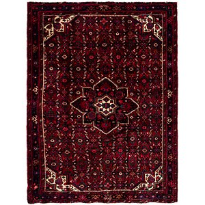 Link to 160cm x 213cm Hossainabad Persian Rug item page