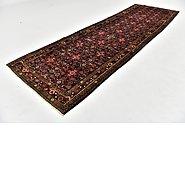 Link to 4' 3 x 14' Hamedan Persian Runner Rug