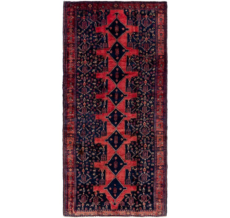5' 3 x 11' 3 Sanandaj Persian Runner...