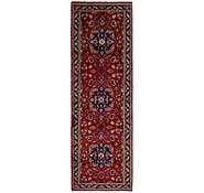 Link to 3' 7 x 11' 7 Tabriz Persian Runner Rug