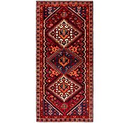 Link to 4' 3 x 9' 7 Ghashghaei Persian Runner Rug