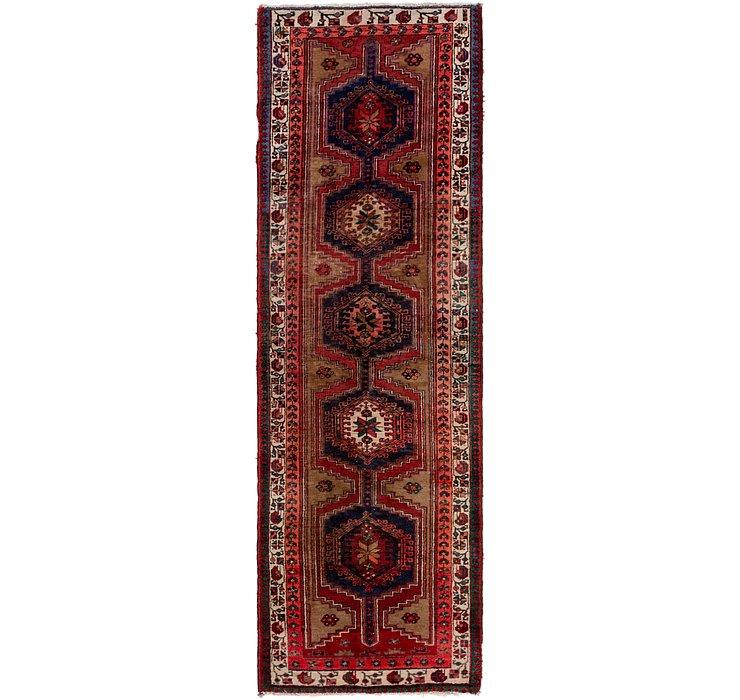 HandKnotted 3' 4 x 10' 8 Meshkin Persian Runner ...