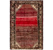 Link to 122cm x 188cm Hossainabad Persian Rug