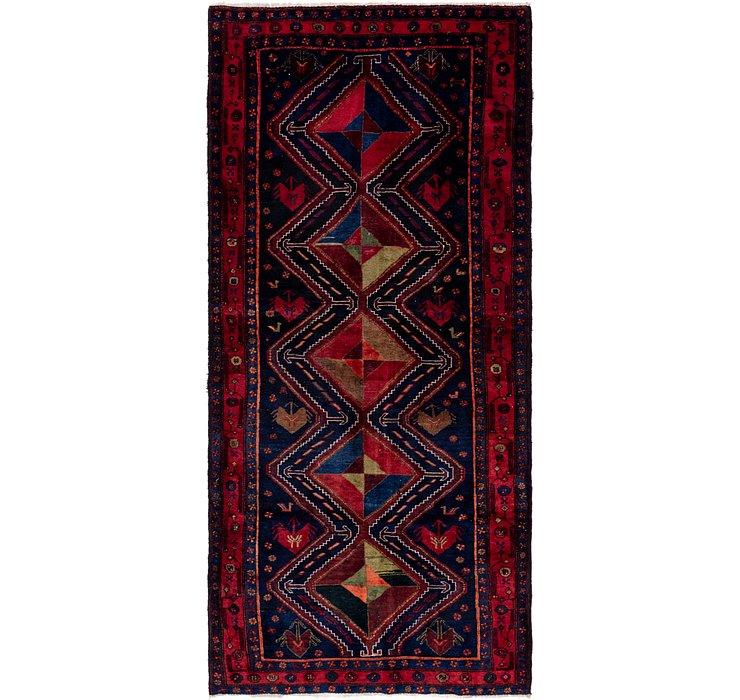 4' 6 x 10' Sirjan Persian Runner Rug