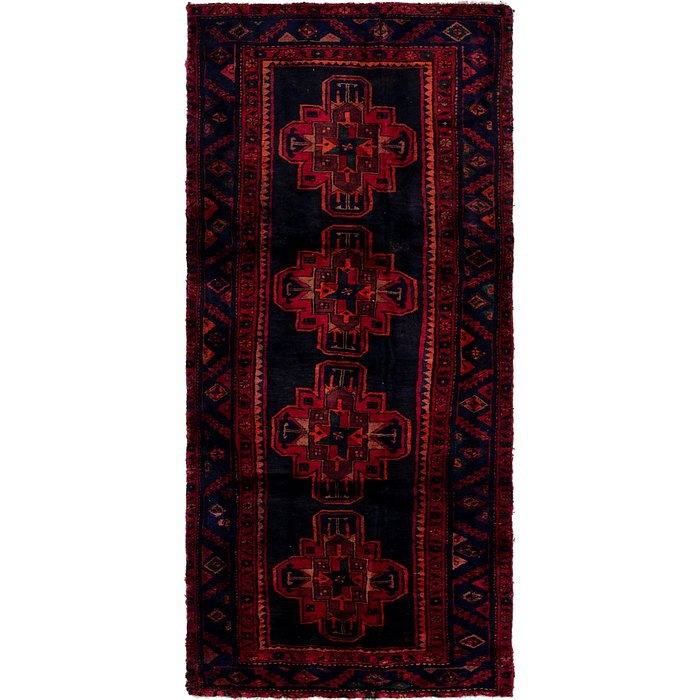 4' x 9' 3 Gholtogh Persian Runner...
