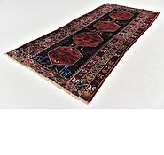 Link to 4' 7 x 10' Shiraz Persian Runner Rug