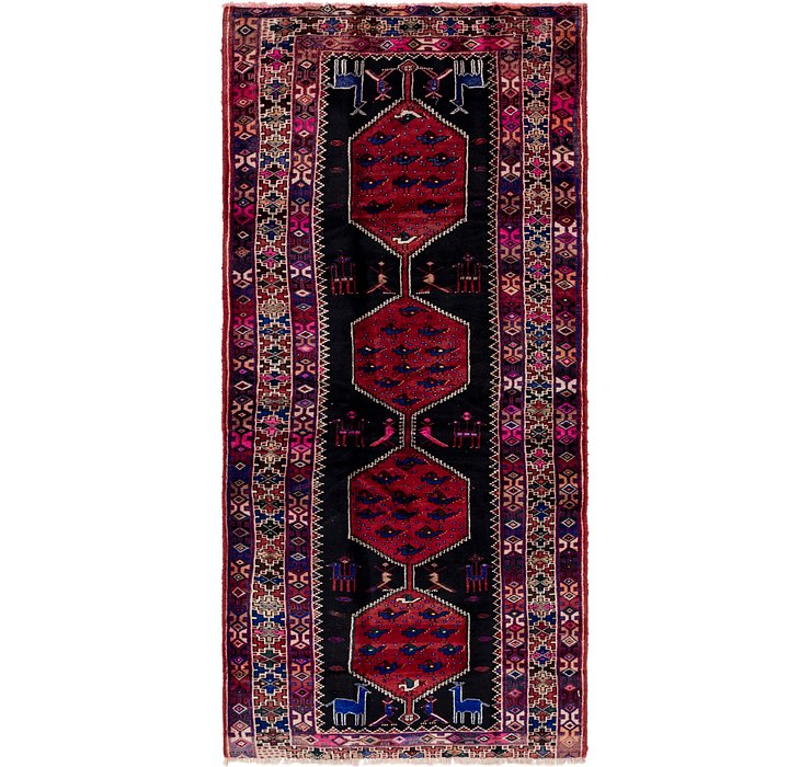 140cm x 305cm Shiraz Persian Runner Rug