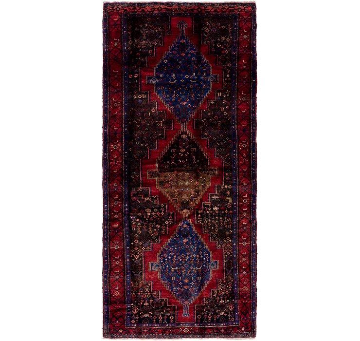 122cm x 300cm Senneh Persian Runner Rug