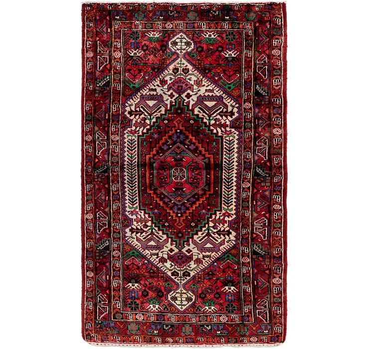 4' 4 x 7' 8 Tuiserkan Persian Rug