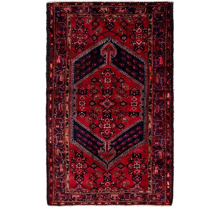 4' 2 x 7' 3 Khamseh Persian Rug