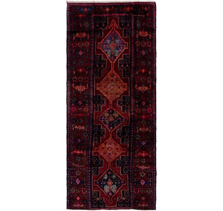 4' 2 x 9' 9 Sirjan Persian Runner Rug