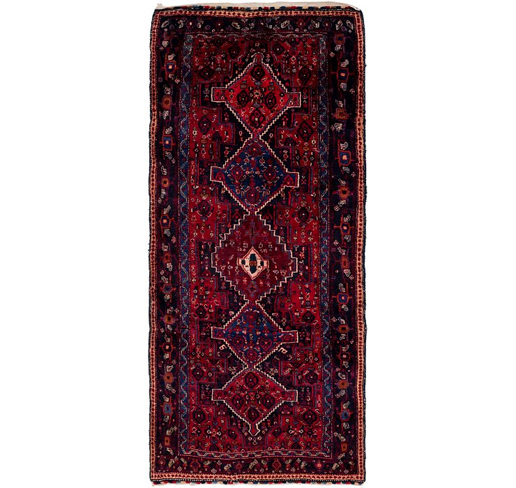 4' 2 x 9' 6 Sanandaj Persian Runner...