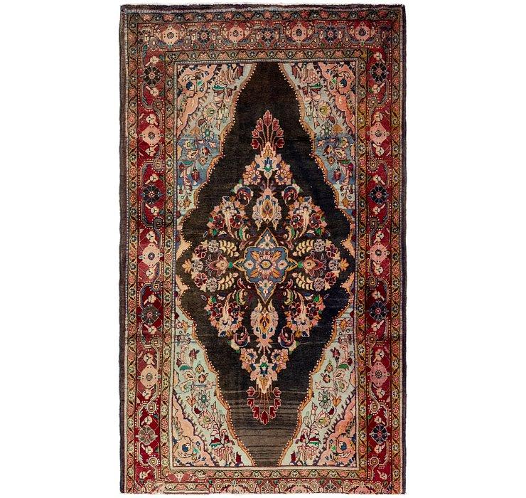 4' 5 x 8' 3 Mahal Persian Rug