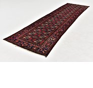 Link to HandKnotted 3' 4 x 12' 8 Balouch Persian Runner Rug