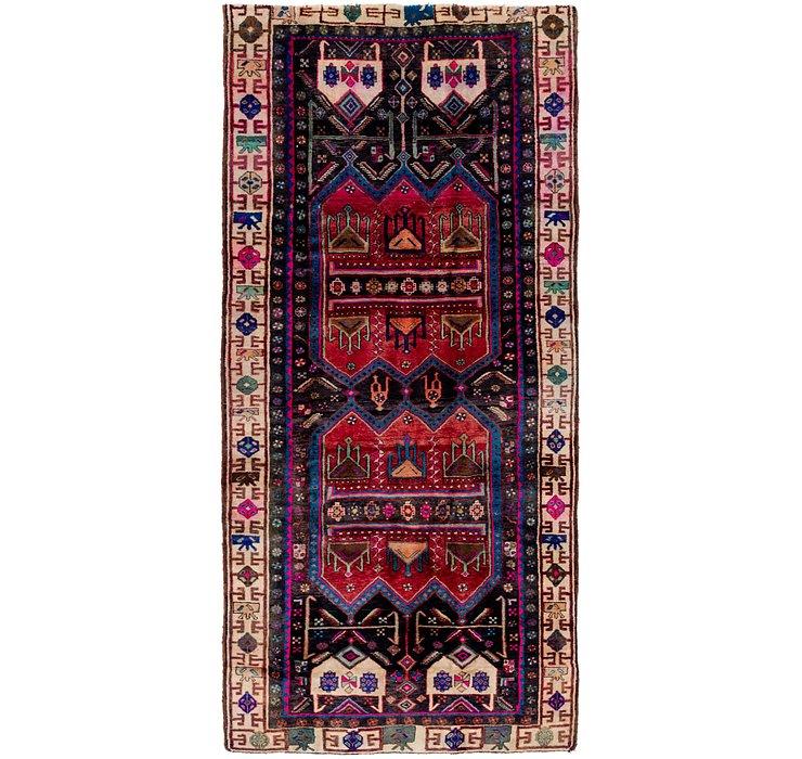 4' 9 x 10' 5 Sirjan Persian Runner Rug