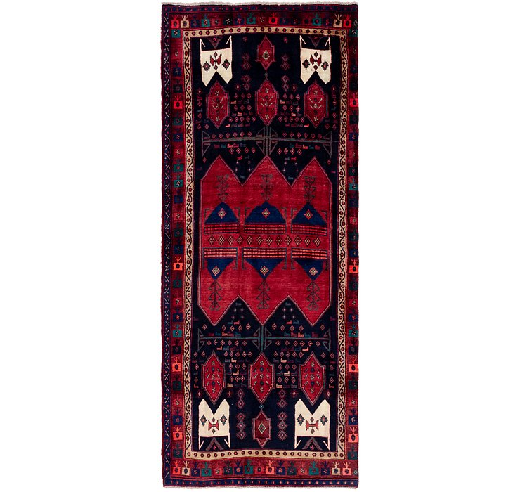 HandKnotted 4' 4 x 11' 7 Sirjan Persian Runner Rug