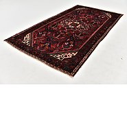 Link to 4' 10 x 9' Hossainabad Persian Runner Rug