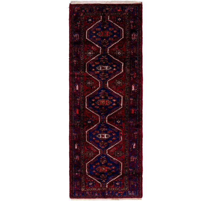 3' 6 x 10' 5 Hamedan Persian Runner ...