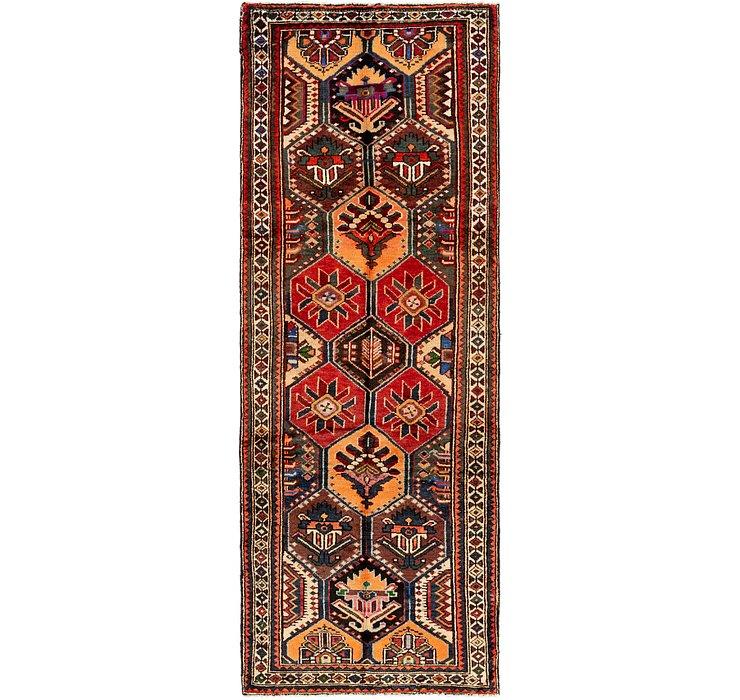 3' 3 x 9' 6 Ghashghaei Persian Runn...