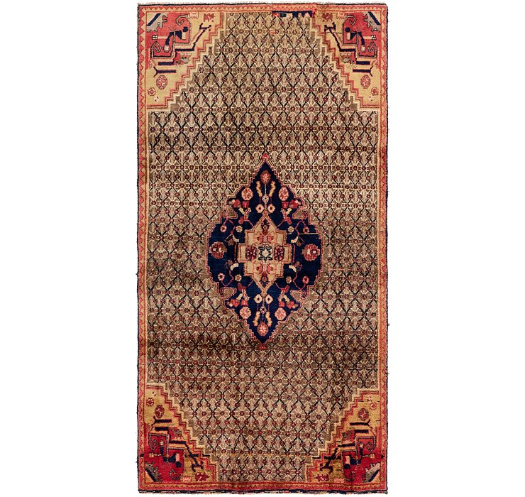 4' x 8' 4 Koliaei Persian Runner ...