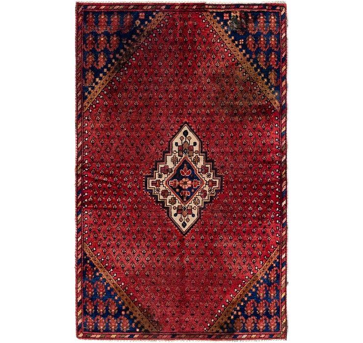 3' 8 x 5' 10 Hossainabad Persian Rug