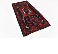 Link to 3' 9 x 7' 10 Hamedan Persian Runner Rug